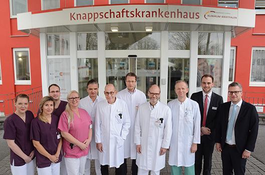 Krebszentrum im Kli8nikum Westfalen feiert den 10. Geburtstag