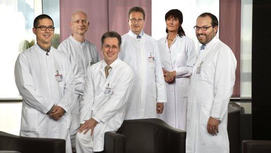 Das Ärzte-Team der Medizinischen Klinik II