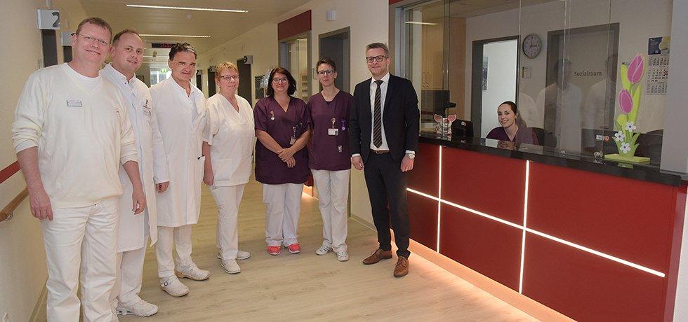 Chirurgisch-Orthopädische Ambulanz im Knappschaftskrankenhaus Dortmund neu gestaltet