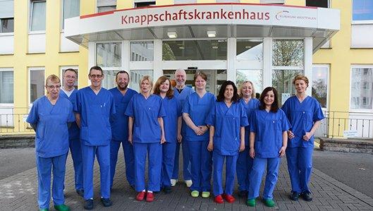 Das Team der Abteilung für Medizinprodukte-Sicherheit