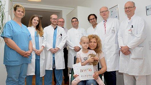 Thoraxchirurgen rund um Chefarzt Dr. Thiel meisterten die anspruchsvolle OP