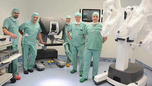 Robotisch unterstützte Chirurgie