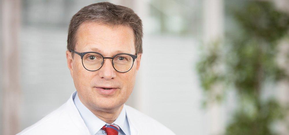 Dr. Clemens Kelbel Direktor der Pneumologischen Kliniken im Klinikum Westfalen