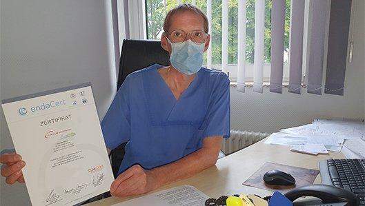 Dr Dieter metzner leitet das EPZ Kamen