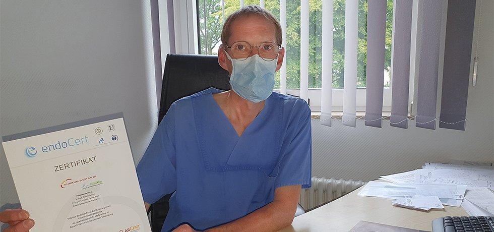 Dr. Dieter Metzner leitet das EPZ Kamen