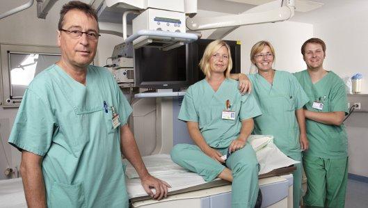Das Team der endoskopischen Urologie