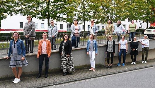 Das Team der Ernährungsberatung am Klinikum Westfalen