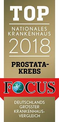 Focus Siegel_Klinikliste_Prostatakrebs_2018