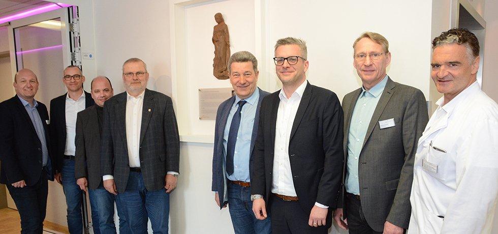 Heilige Barbara im Knappschaftskrankenhaus Dortmund