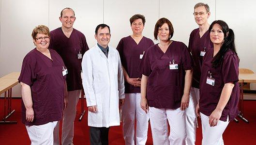 Gruppenbild des Hygiene-Teams am Klinikum Westfalen.