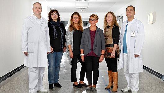 Diabetes-Team am Hellmig-Krankenhaus Kamen