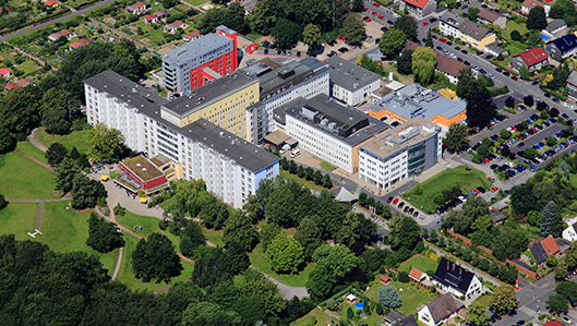 Luftaufnahme Knappschaftskrankenhaus Dortmund