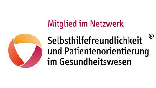Logo - Mitglied im Netzwerk Selbsthilfefreundlichkeit und Patientenorientierung im Gesundheitswesen