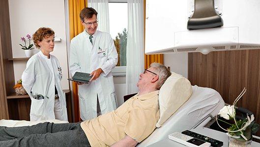 Westfälisches Zentrum für Altersmedizin, Chefarzt Dr. Martin Haas, Leitende Oberärztin Dr. Anke Reckert