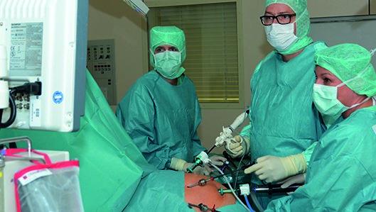 Minimalinvasive OP Dr. Bettenbrock