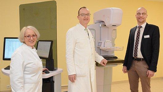 Klinikum Westfalen etabliert neues Mammographiegerät am Brustzentrum