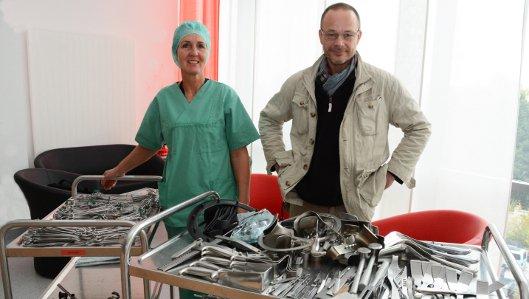 Klinikum Westfalen stellt OP-Besteck für Srebrenica zur Verfügung