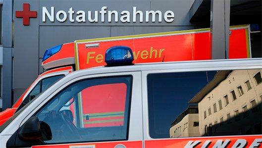 Zentrale Notaufnahme am Knappschaftskrankenhaus Dortmund