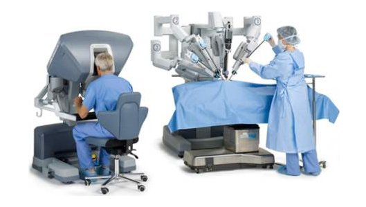 Roboter assistierte Operationen mit dem daVinci-System