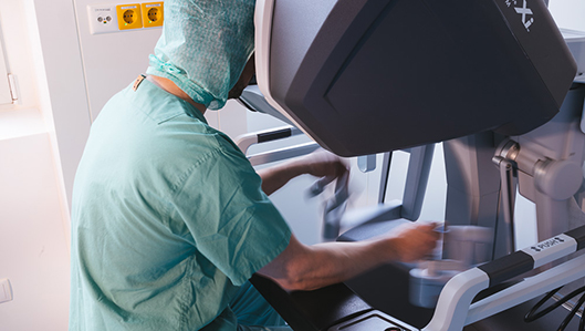 Robotisch unterstützte Chirurgie am Knappschaftskrankenhaus Dortmund