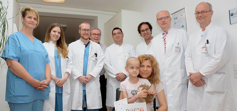 Die Thoraxchirurgen rund um Chefarzt Dr. Thiel meisterten die anspruchsvolle OP