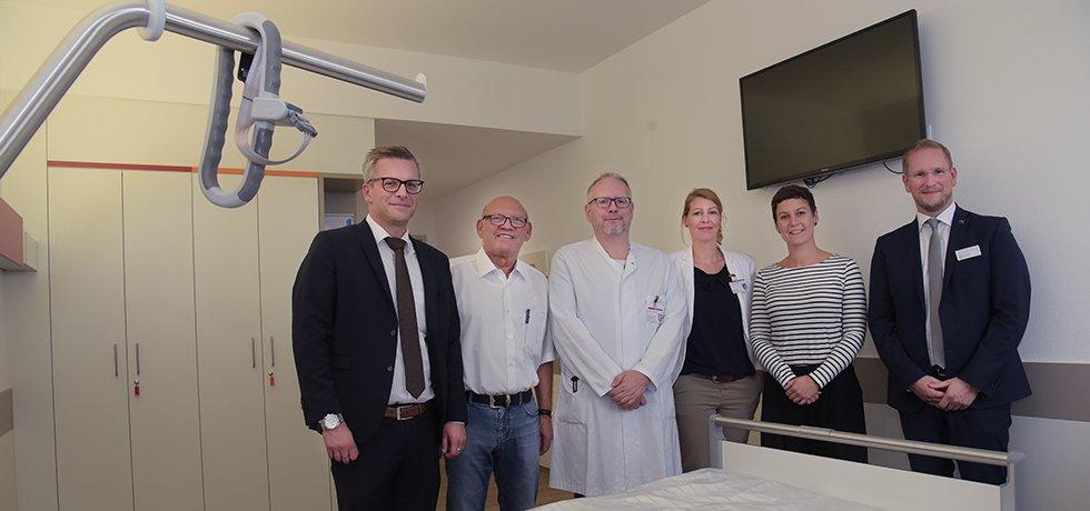 neue Station Hellmig-Krankenhaus Kamen