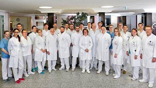 Das Team der Chirurgischen Klinik