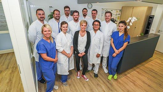 Team der Klinik für Chirurgie