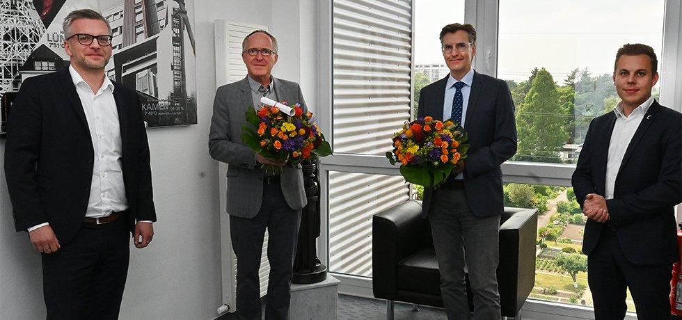 Wechsel in der Ärztlichen Leitung am Knappschaftskrankenhaus Dortmund