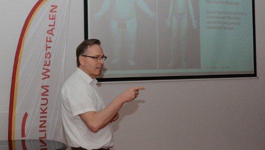 Der Kampf mit den Kilos - Adipositas-Vortrag am Knappschaftkrankenhaus