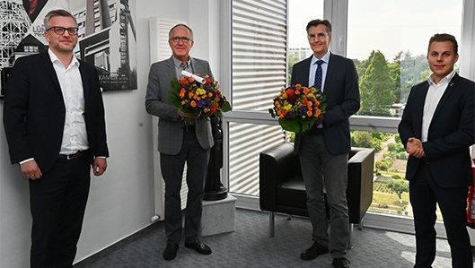 Wechsel der ärztlichen Leitung am Knappschaftskrankenhaus Lütgendortmund
