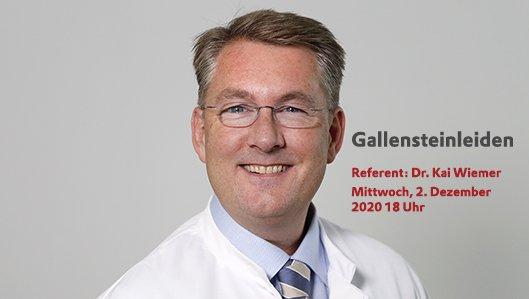 Chefarzt Dr. Kai Wiemer spricht über Gallensteine