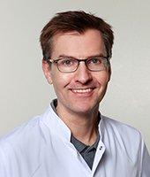 Dr. med. Martin Haas, Direktor der Klinik für Innere Medizin und der Klinik für Altersmedizin