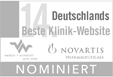 NOMINIERT Beste Klinik-Website