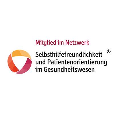 Mitglied im Netzwerk Selbsthilfefreundlichkeit und Patientenorientierung im Gesundheitswesen