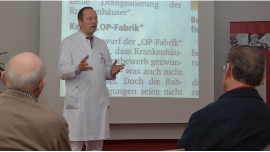 Chefarzt Dr. Holger Sauer