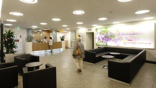 Aufnahme und Information in der Klinik am Park Lünen