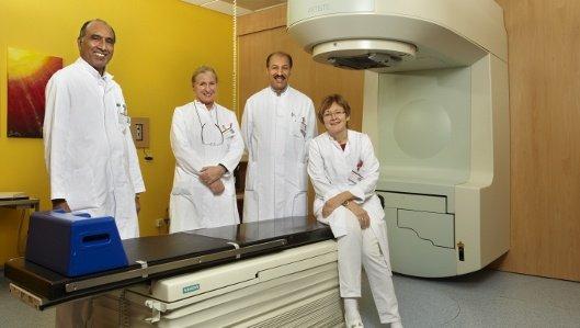 Das Team der Klinik für Radioonkologie und Strahlentherapie