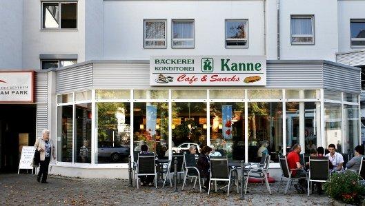 Die Bäckerei Kanne an der Klinik am Park Lünen