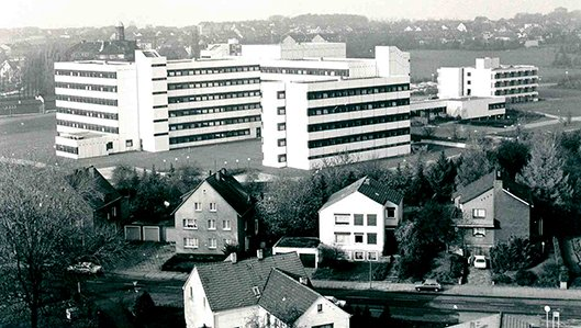 Knappschasftskrankenhaus Lüdo 1977