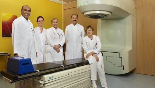 Das Ärzte-Team der Klinik für Radioonkologie und Strahlentherapie