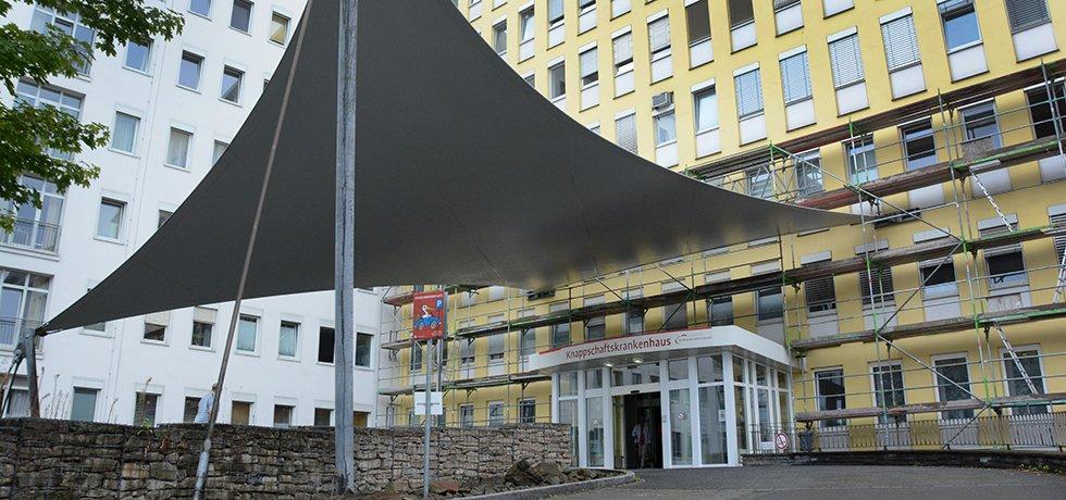 Fassade des Knappschaftskrankenhauses Dortmund