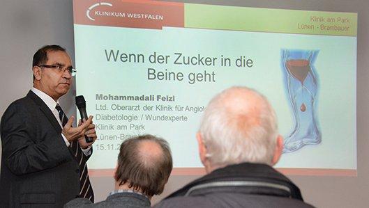 Vortrag Oberazrt Feizi