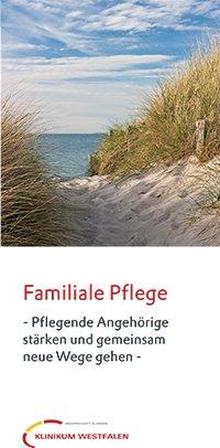Flyer Familiale Pflege