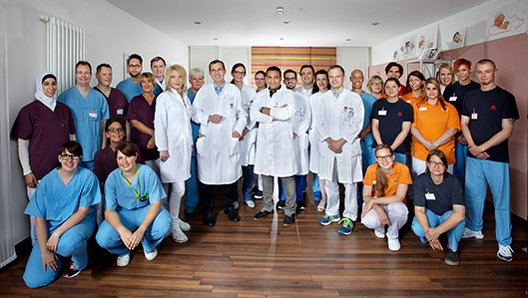 Klinik für Neurolgie Teambild