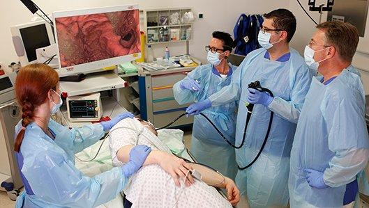 Gastroenterologie Hellmig-Krankenhaus Kamen