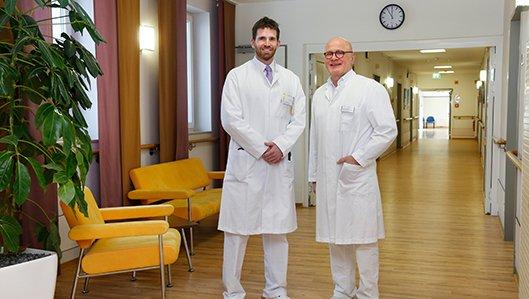 Dr. Schmitz und Dr. Kunath