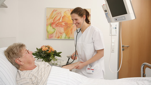 Bewerbung für Pflegeberufe