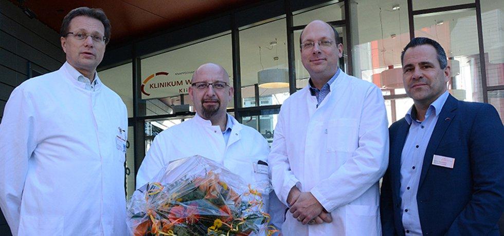 Neuer Chefarzt an der Klinik am Park in Lünen