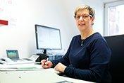 Chefarztsekretariat der Thoraxchirurgie Claudia Czieso